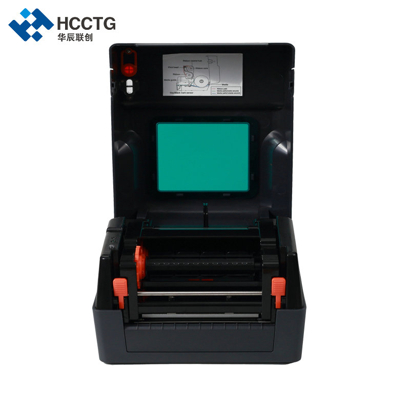 4inch Thermal Transfer & Direct Printing Desktop Label Barcode Printer HRP400H