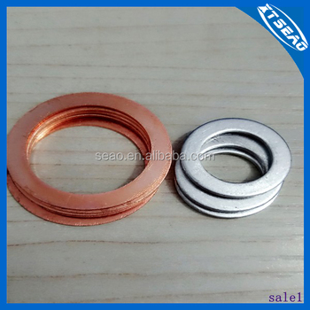 Flat Thin Gaskets/ Ring Round Gaskets /sealed Metal Gaskets - Buy ...