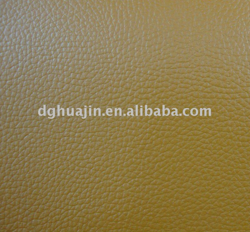 lychee PVC artifical leather for furniture