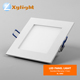 3w 6w aluminum interior insulated metal ceiling square panel 12v dc led light panel