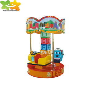 Electric merry go round amusement equipment carousel for sale