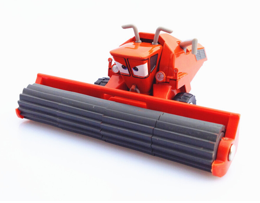 Buy Hot Toys 1 48 Kids Mini Cars 2 Toys Frank Cow Harvester Tractor