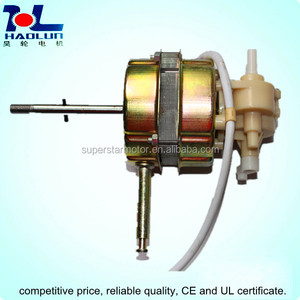 AC shade pole motor for console fan