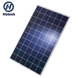 Heat shock resistance glass 18% high efficiency pv 270w solar panel with full certificate
