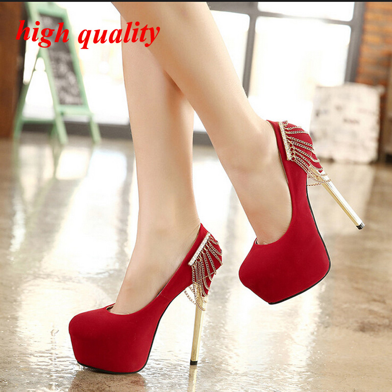 Shoes With Red Ress
