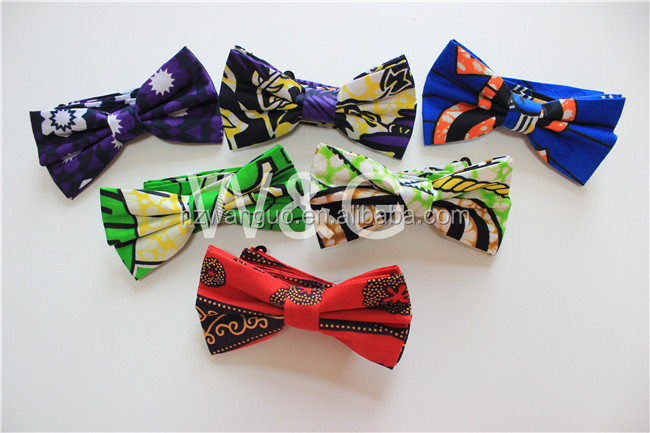 African Fashion Bow Ties For Men