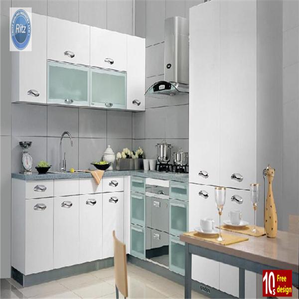 Isla gabinete mdf mueble cocina lacado blanco mueble cocina ...