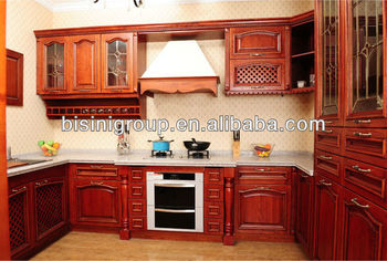 Beau Bisini Lastest European Style Kitchen Cabinet Designs, Solid Wood Cabinets  For Kitchen, Hanging Cabinet