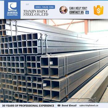 black metal tubing trade assurance supplier black anneal square steel tube dimensions