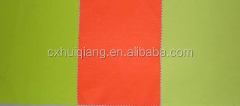 High Visible Fluorescent Apparel Fabric in Orange