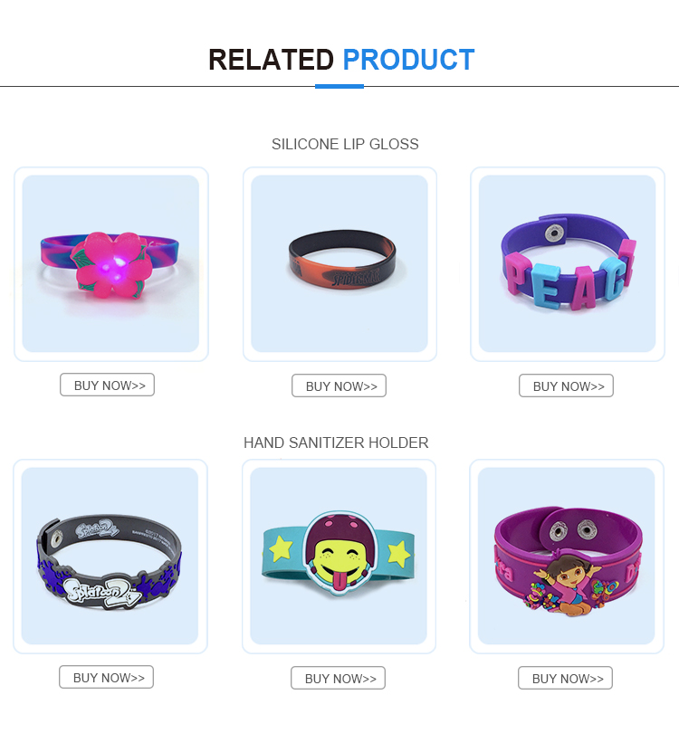 The latest cool silicone bracelet kids silicone wristbands