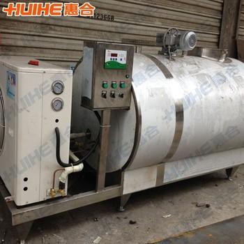 1000 Liter Stainless Steel Milk Cooling Tank