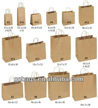 Buy small paper bags