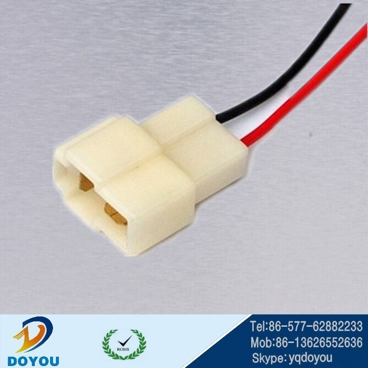 customized DJ7022-6.3-11 automotive connectors wire harness, PA66 2