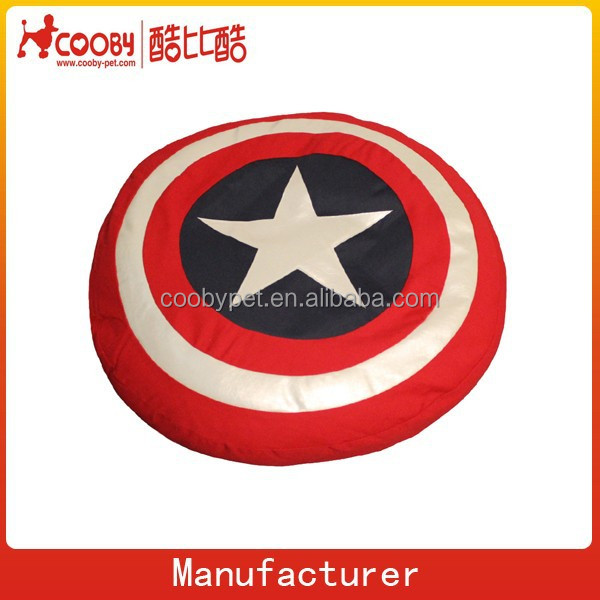 Captain American PU star and canvas pet mat