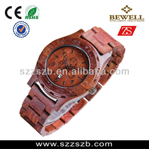 2014 New Products Custom Wooden watch Quartz Mens Womens watches