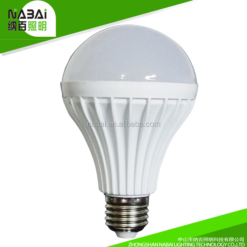 Low prices energy saving plastic material B22 E27 3W 5W 7W 9W led bulb
