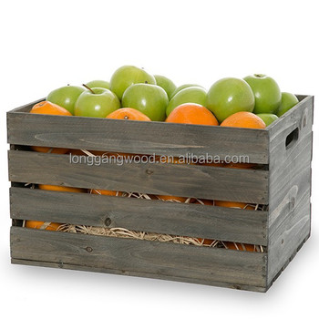 2015 Wholesale Unfinished Cheap Wooden Crates Packing Wood Crate For Vegetables And Fruits