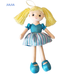 Beautiful girl dolls plush fashion doll high quality rag doll OEM