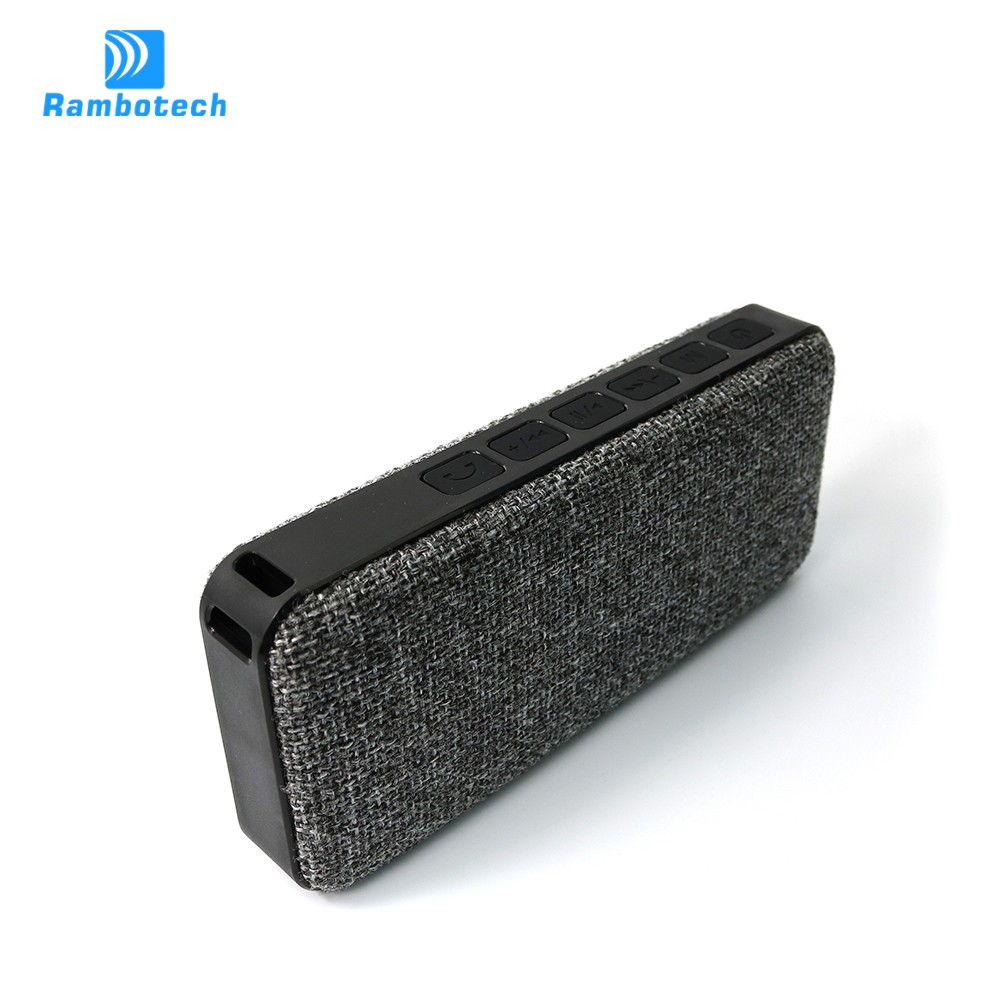 Wireless Stereo Rechargeable Speaker with Micro, Ultra-thin Delicate Bluetooth waterproof Speaker RS600
