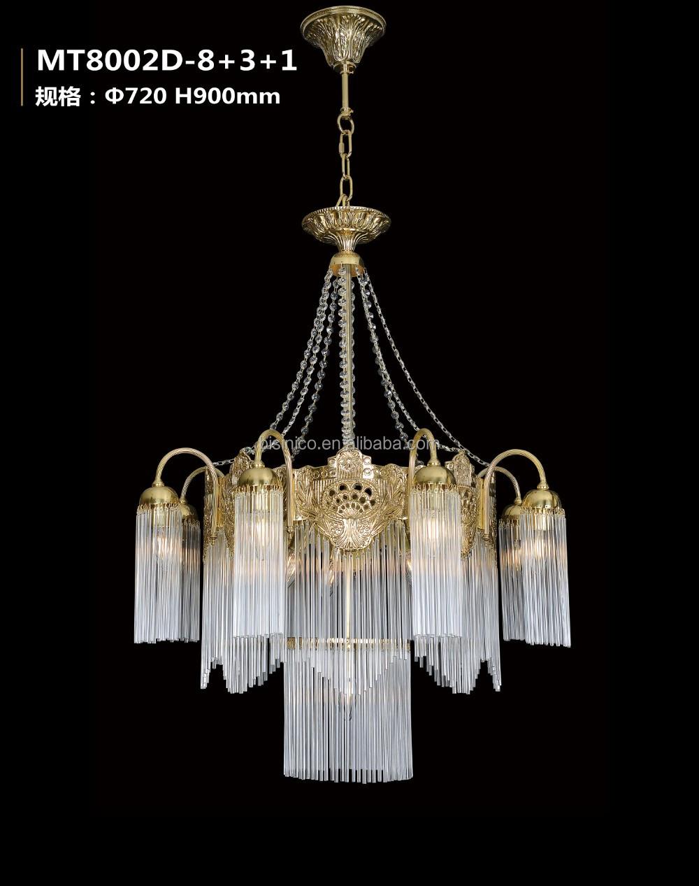 Stile rococò di cristallo lampadario in bronzo/home decor retro in ...