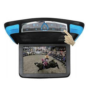 Big Screen Car TV 12.5 Inch Play DVD with USB/SD/Game Touch Button