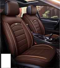 High Performance Universal Elegant Luxury Leather Coffee Car Seat Cover