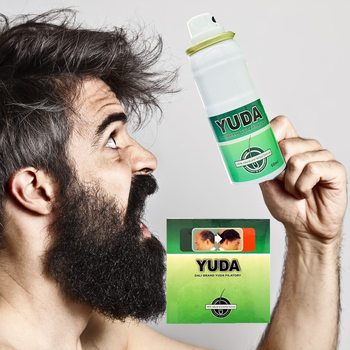 Strong products for men hair regrowth with 60ml*3 bottle Yuda anti hair loss spray , hair loss treatment
