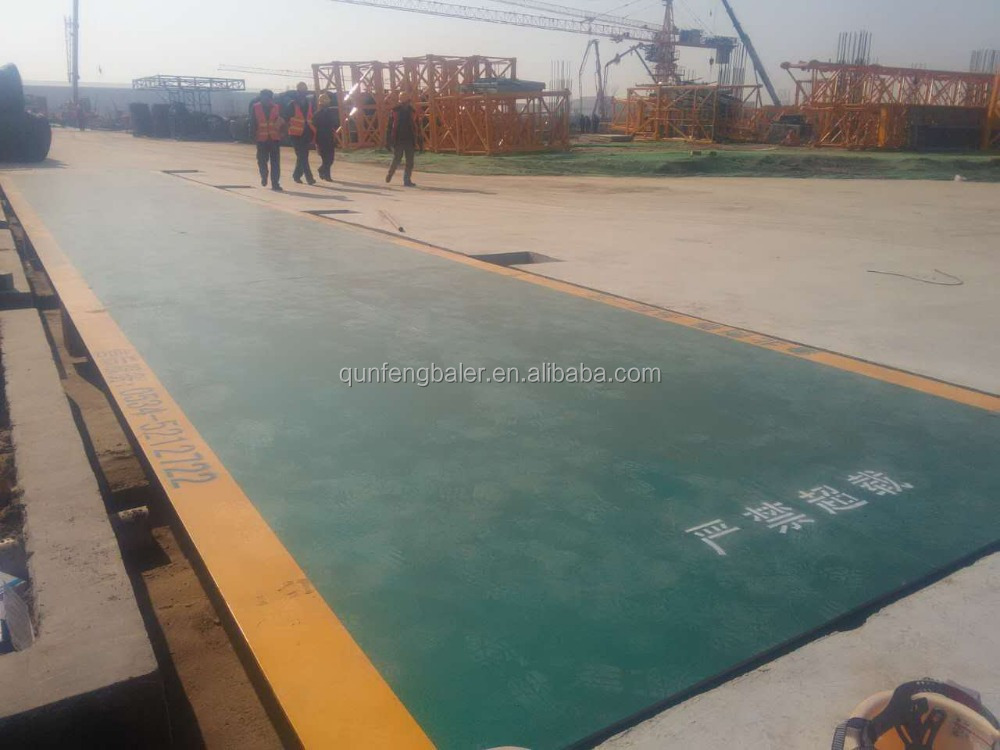 50 ton 60 ton 80 ton truck scale weighbridge heavy duty scale with printer