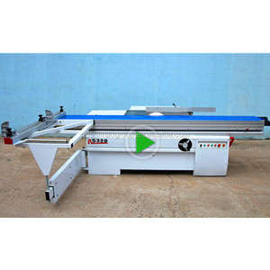 Woodworking sliding table saw multifunction circular saw wood cutting machine