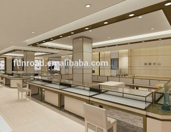 Commercial Retail Shop Interior Design For Jewellery Shop Glass Display -  Buy Special Interior Design Ideas Jewellery Shops,Closing Shop Store  Display ...