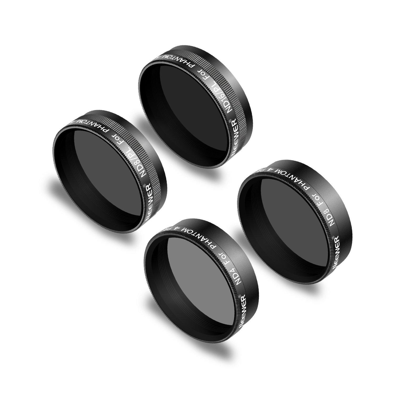 PeleusTech 3Pcs Graduated ND Filters Set for DJI Mavic 2 Zoom ND8-GR ND16-4 ND32-8