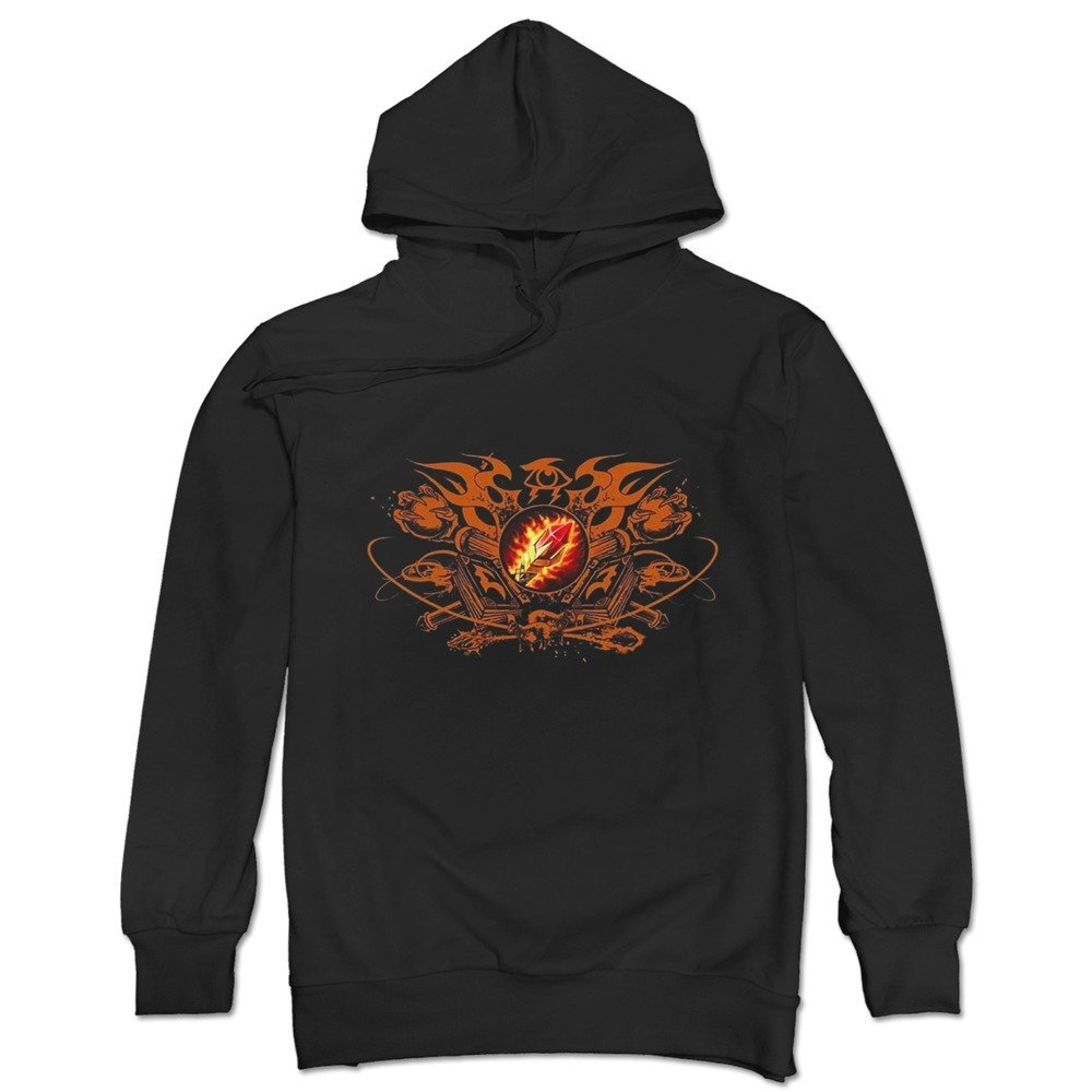TonyGray Men's Online Games WOW Mage Logo Hoodie New