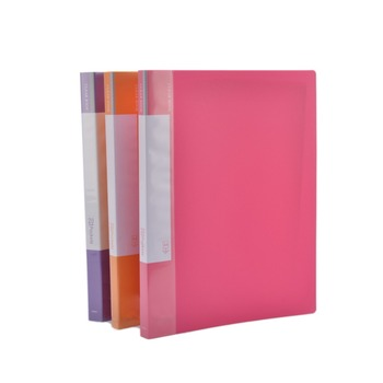 Colorful plastic office school stationary a4 sleeve folder