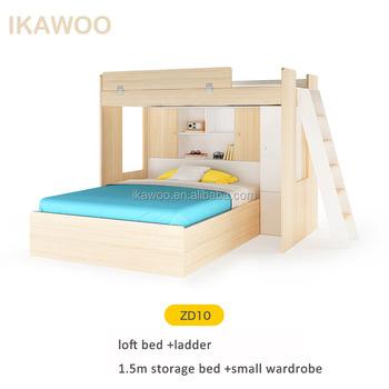 Etagenbetten Für Kinder Mit Treppen/betten Etagenbetten/Kinder Etagenbett  Mit Treppe
