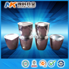 China alibaba best price high purity more than 99.95% platinum crucible with lid