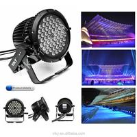 2010 Asian Games led light supplier RGBW LED Par light 54pcs 3W LED Wall washer
