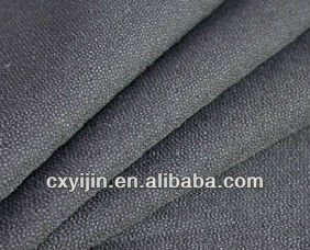 Woven fusible interlining for garment