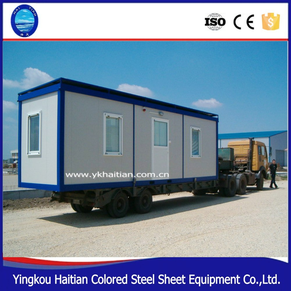 Personalized container house for living and office Mobile kitchen container modular china prefabricated homes