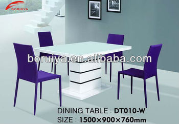 Modern Dining Table Designs Gl Top Center Design Model With Price