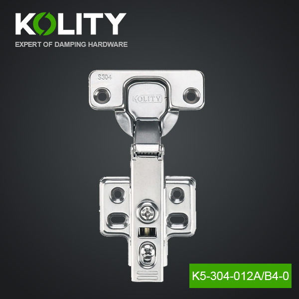 Stainless Steel 304 105 Degree 35mm Clip On Hydraulic Furniture Hinge