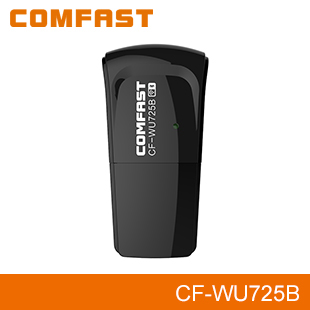 COMFAST CF-WU725B Bluetooth Wifi Adapter,2-in-1 Function Advanced Security wireless wifi adapter for smartphone