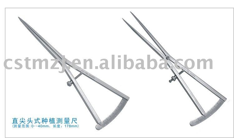Bone Caliper/Bone Scaler/Dental Implant Gauge,hot water temperature gauge