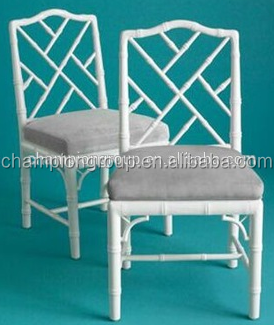 Faux Bamboo Chippendale Arm Chairs Chinoiserie Dining Chair Vintage Metal Chinese Table Product On