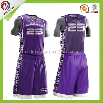 387f992b57b Camo Cheap Basketball Uniforms blank wholesale design 2017 latest best  Sublimated reversible Custom Basketball Jersey design