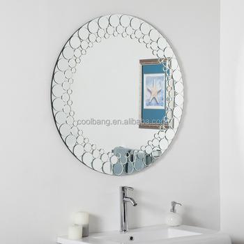 Wholesale Nice Design Round Shape Decorative Wash Basin Mirror ...