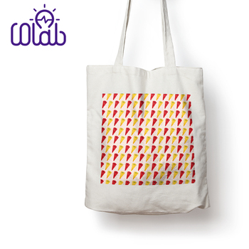 High Quality Attractive Design Custom Canvas Printed Tote Bags