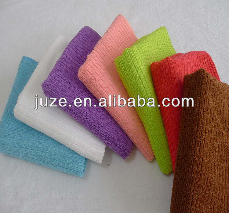 microfiber cheap face towel folding
