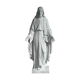 High quality catholic religious craft souvenirs marble life size jesus statue
