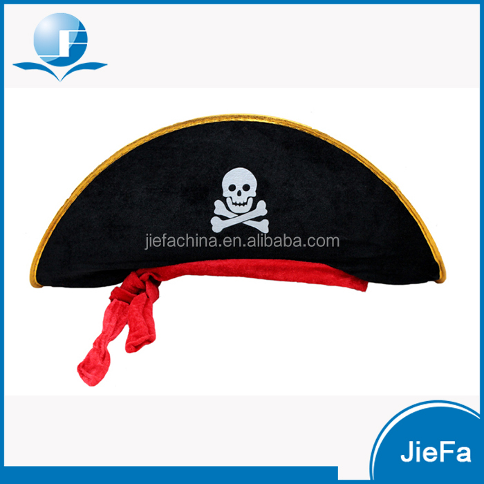 Custom Designs Wool Paper EVA Pirate Party Hats